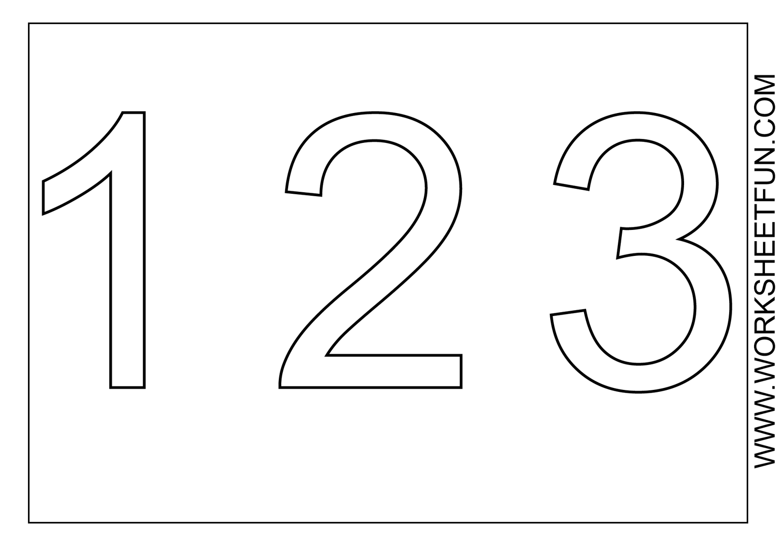 number 3 coloring pages preschool number 3 coloring page coloring home 3 coloring preschool number pages
