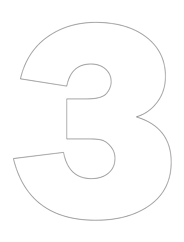 number 3 coloring pages preschool number 3 coloring pages for preschoolers counting numbers pages preschool 3 coloring number