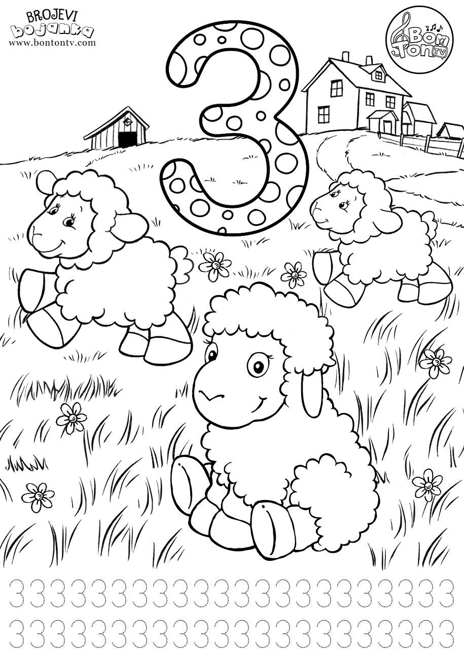 number 3 coloring pages preschool number 3 preschool printables worksheets coloring 3 number coloring preschool pages