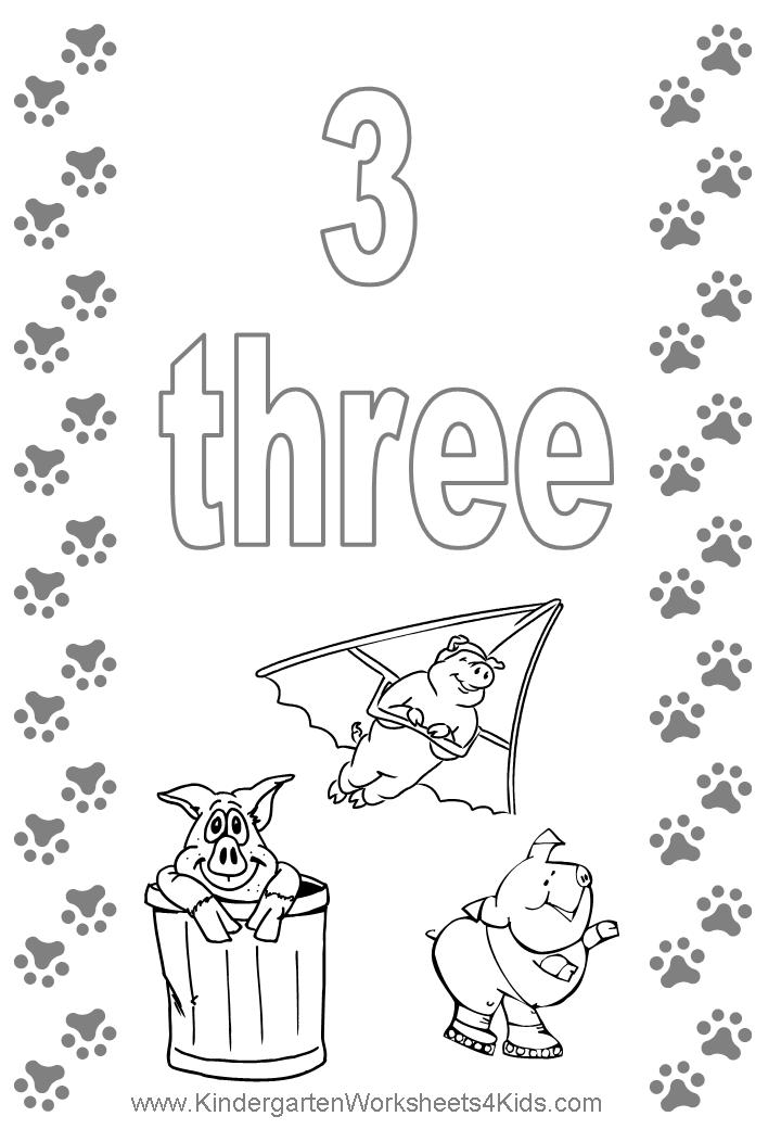 number 3 coloring pages preschool number coloring pages preschool coloring pages 3 number