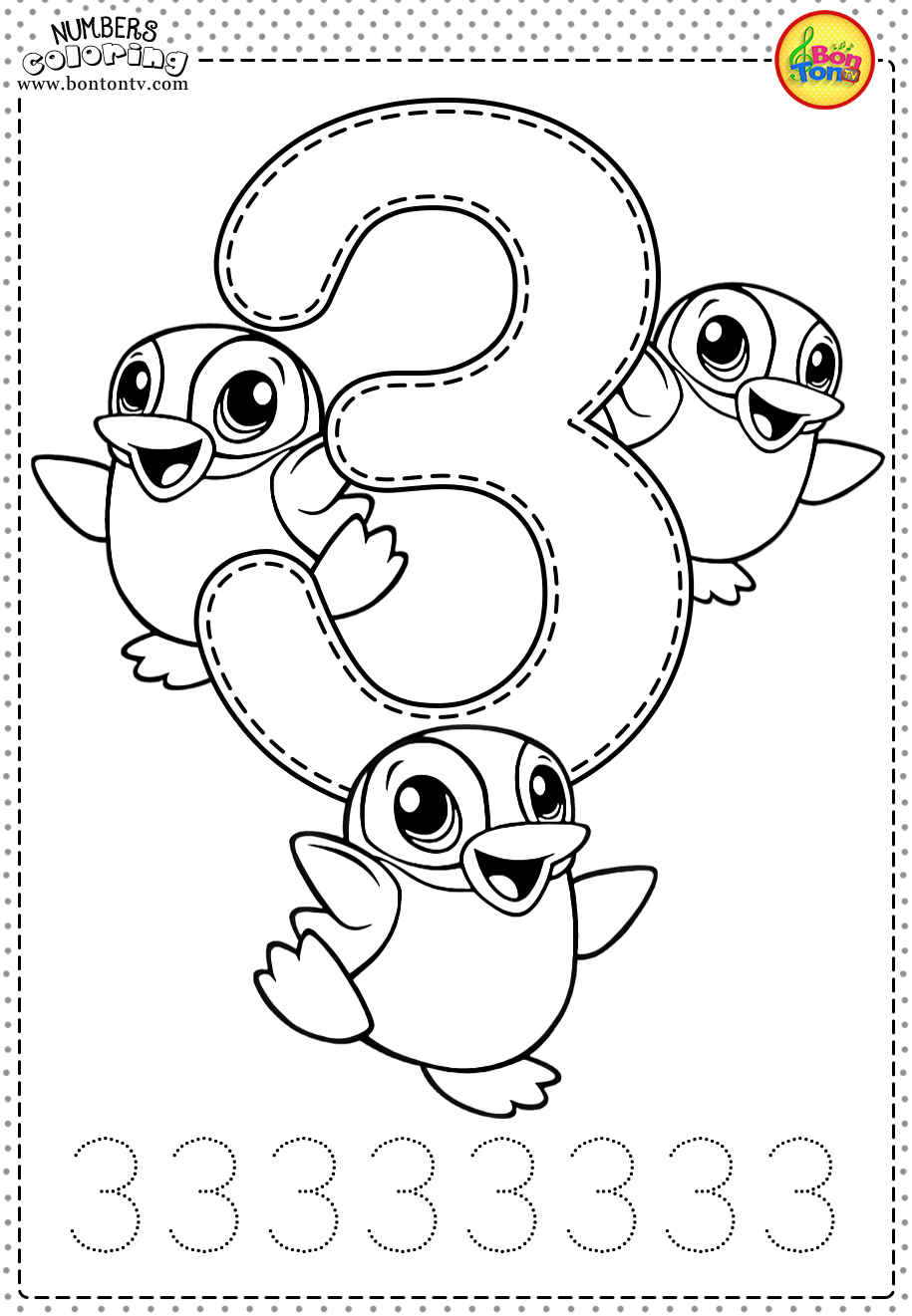 number 3 coloring pages preschool number three learning to write simple handwriting number number 3 preschool pages coloring