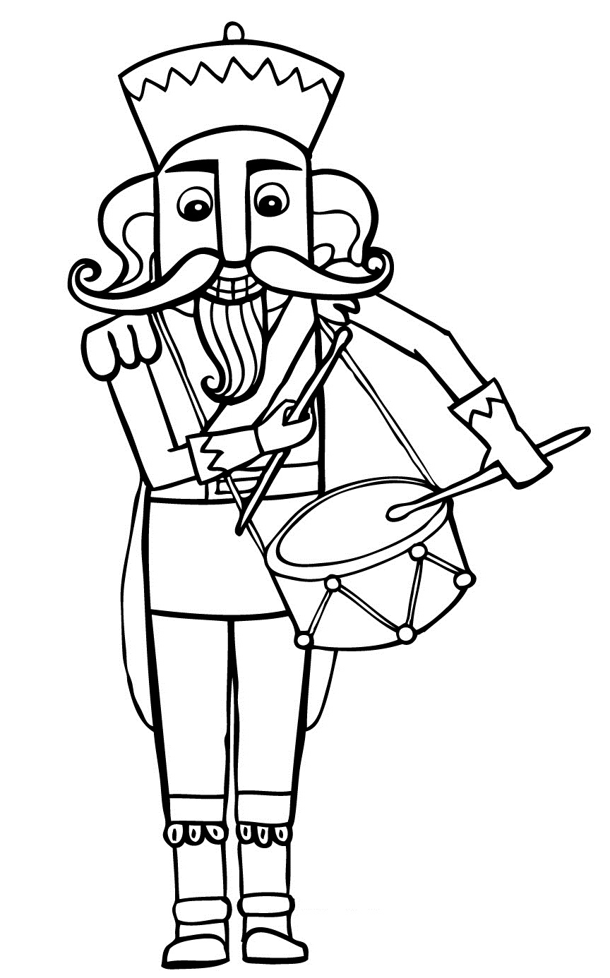 nutcracker coloring page 10 best images about coloring pages nutcrackers page nutcracker coloring