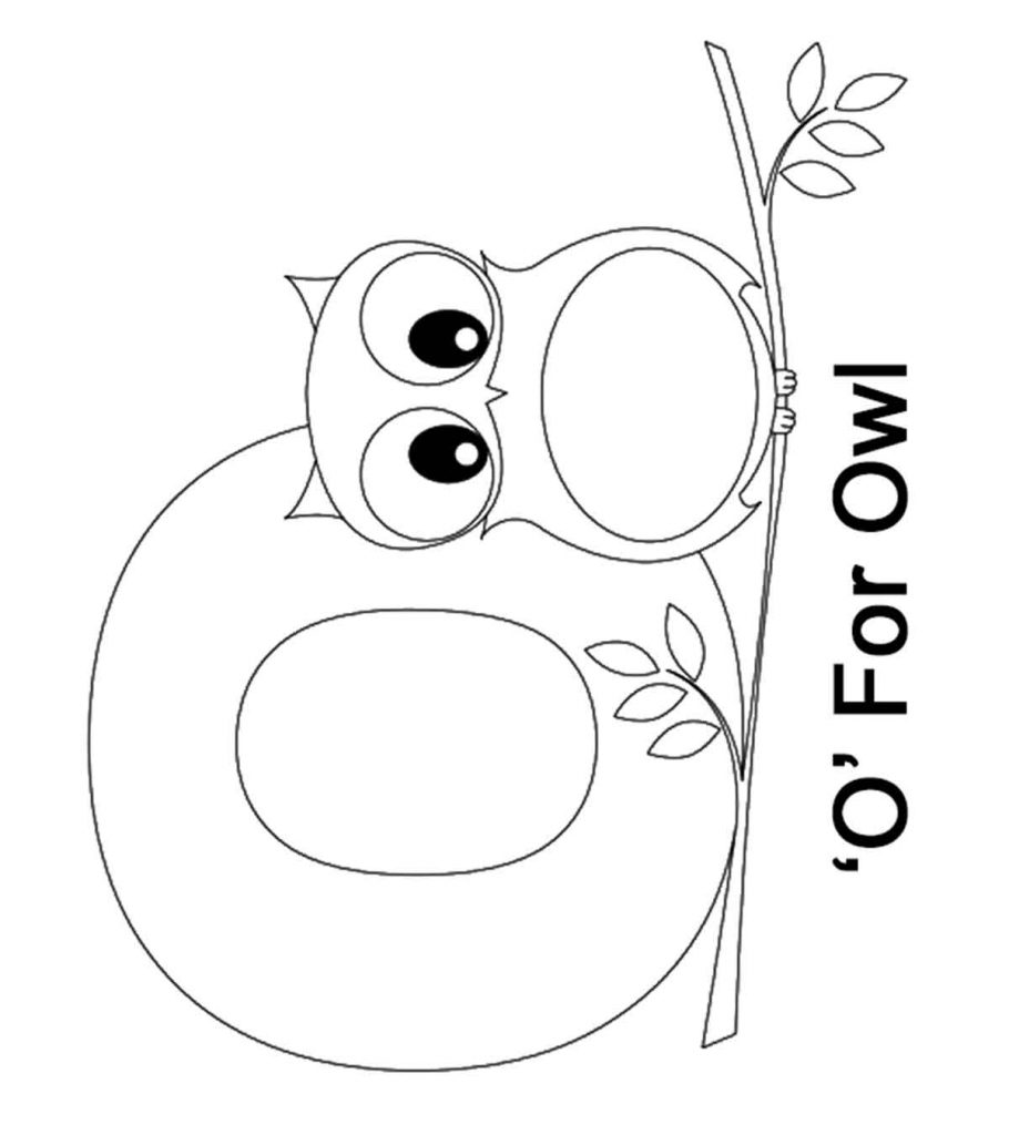o coloring pages letter o coloring pages coloring home coloring o pages