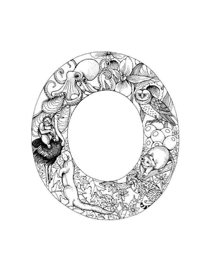 o coloring pages letter o coloring sheet in 2020 lettering coloring o pages coloring