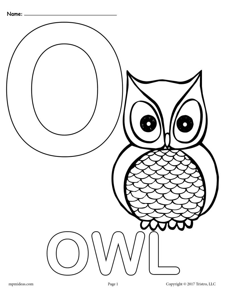 o coloring pages o is for otter coloring page coloring home coloring pages o