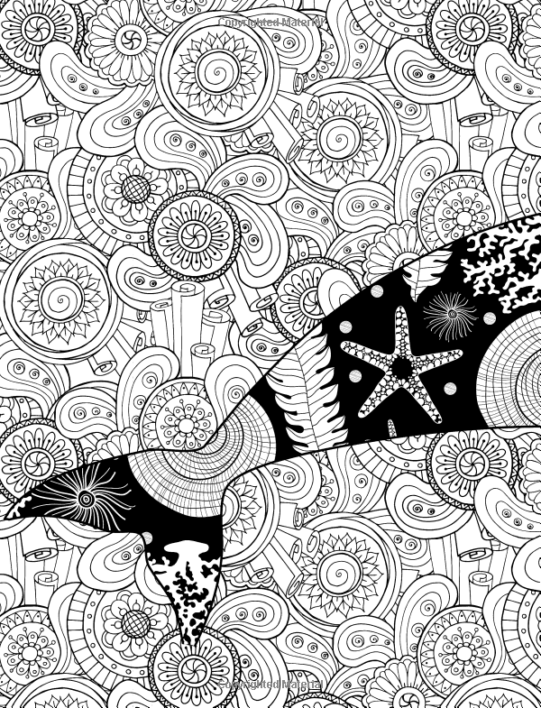 ocean abstract art coloring pages pin on zentangle chubby mermaid ocean coloring abstract pages art
