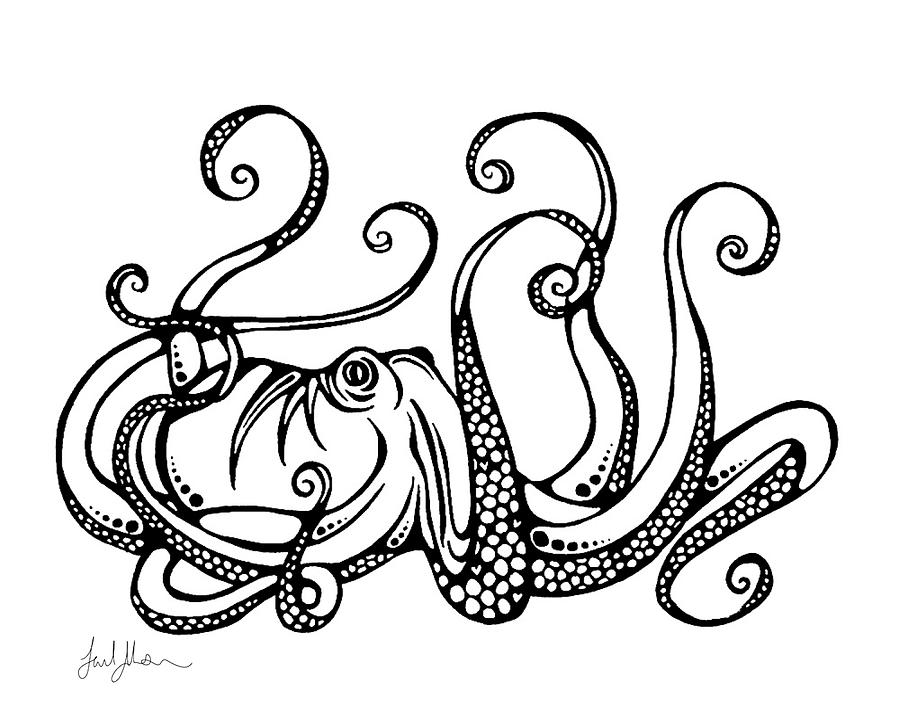 octupus drawing octopus drawing pictures at getdrawings free download drawing octupus
