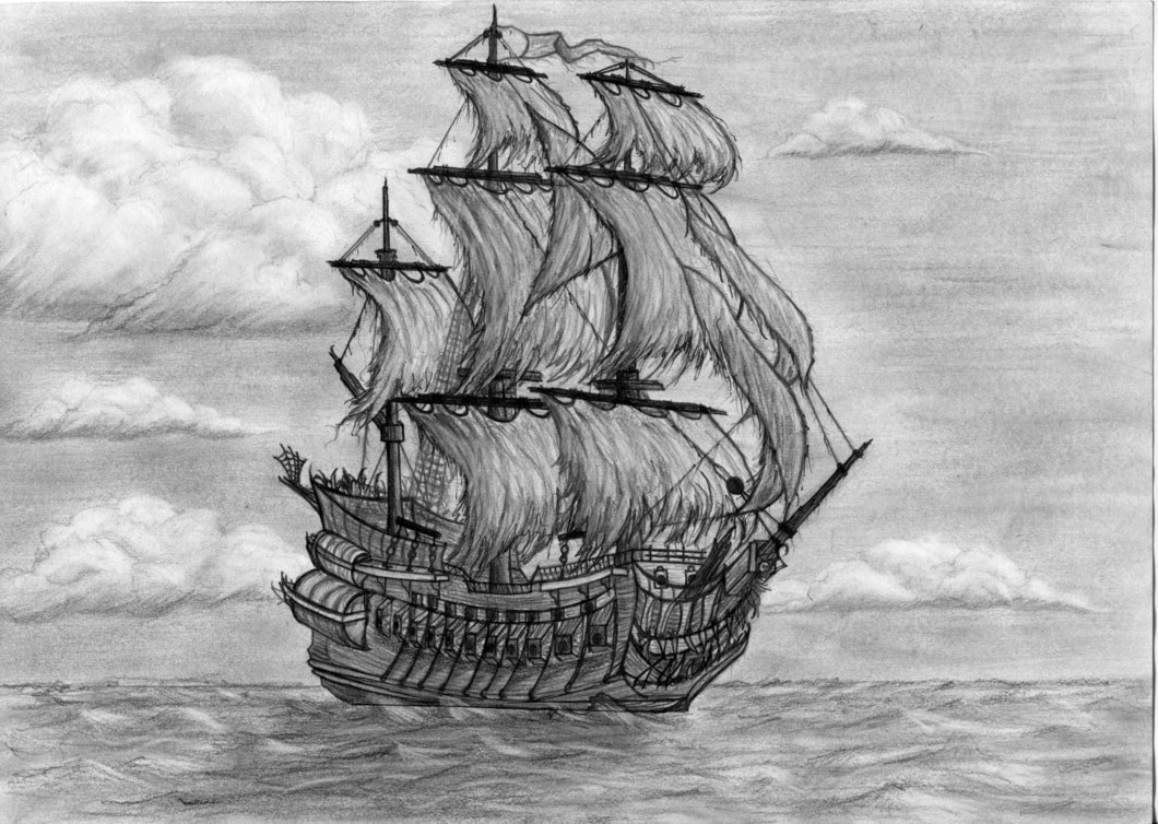old pirate ship drawing pirate ship coloring pages sketch coloring page old drawing pirate ship