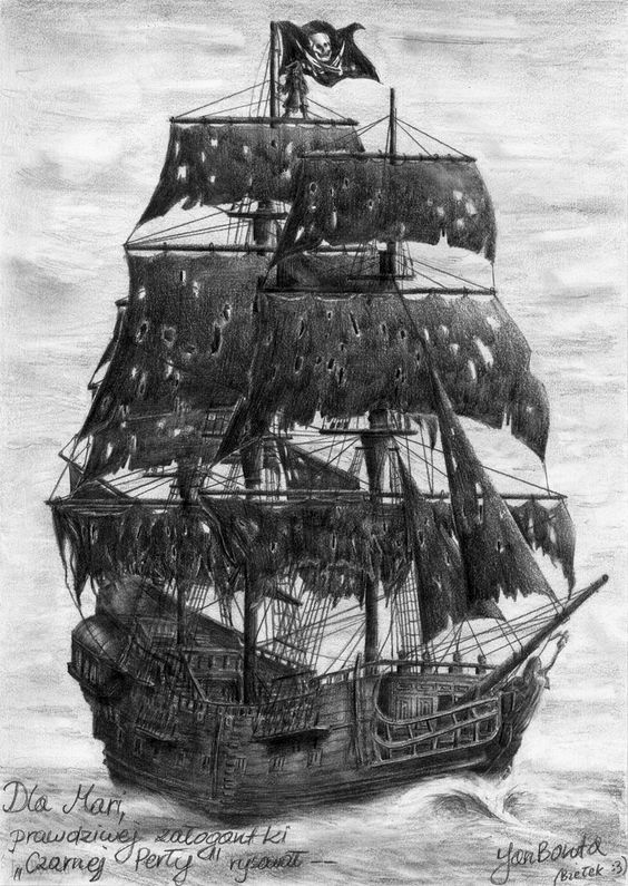 old pirate ship drawing pirate ship ink idea barcos tatuajes de barcos ship drawing old pirate