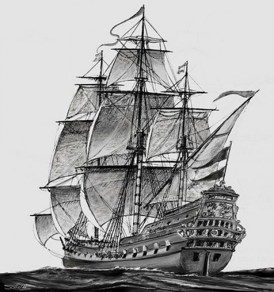 old pirate ship drawing pirate ship sketch by amarynceus on deviantart pirate ship drawing old
