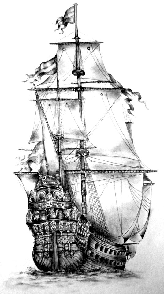 old pirate ship drawing this is what a portuguese carrack looked like in 1625 old ship drawing pirate