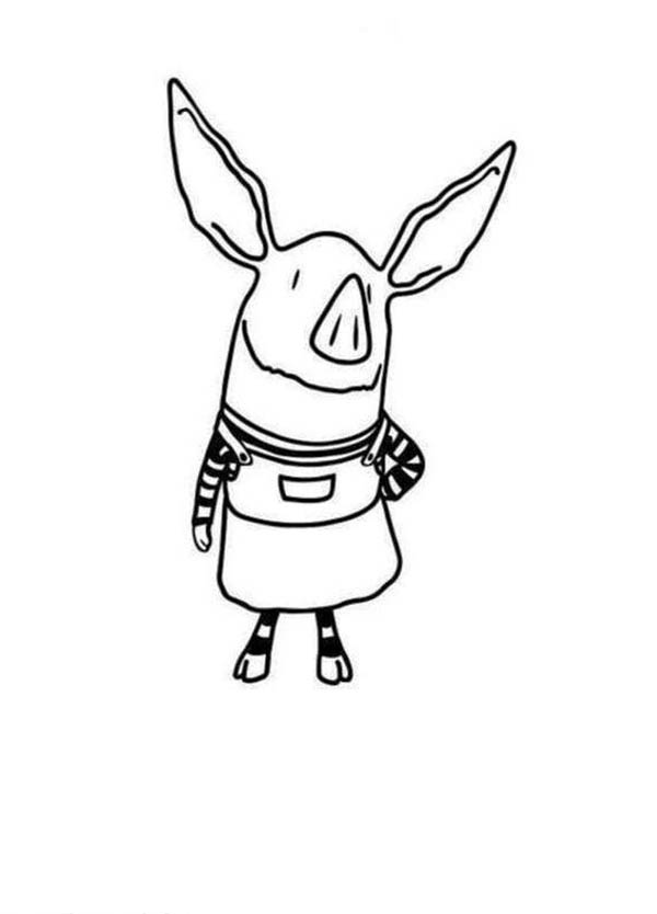 olivia printables olivia the pig coloring page coloring home olivia printables