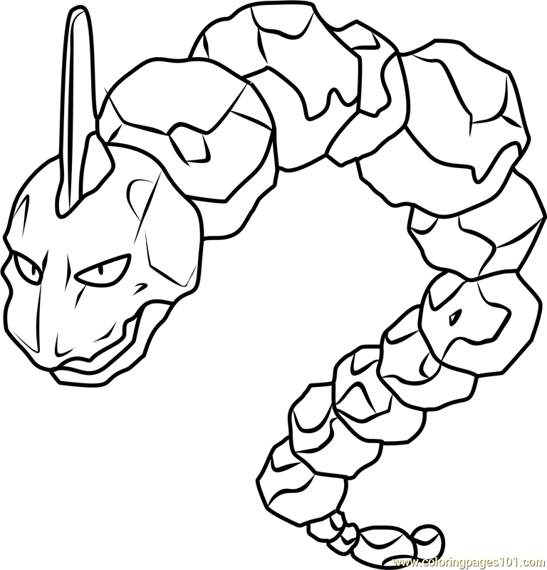 onix pokemon coloring page onix coloring page page pokemon onix coloring