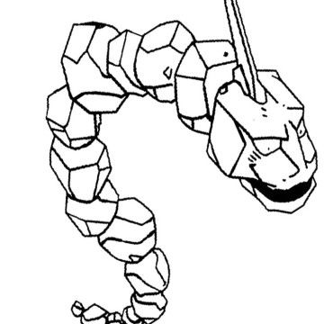 onix pokemon coloring page onix coloring pages at getdrawings free download onix pokemon page coloring