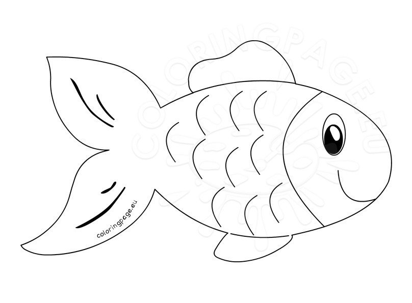 outline for coloring fish clip art outline coloring page for coloring outline