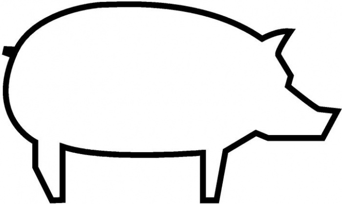 outline of a pig free pig clipart outline pictures on cliparts pub 2020 pig of a outline