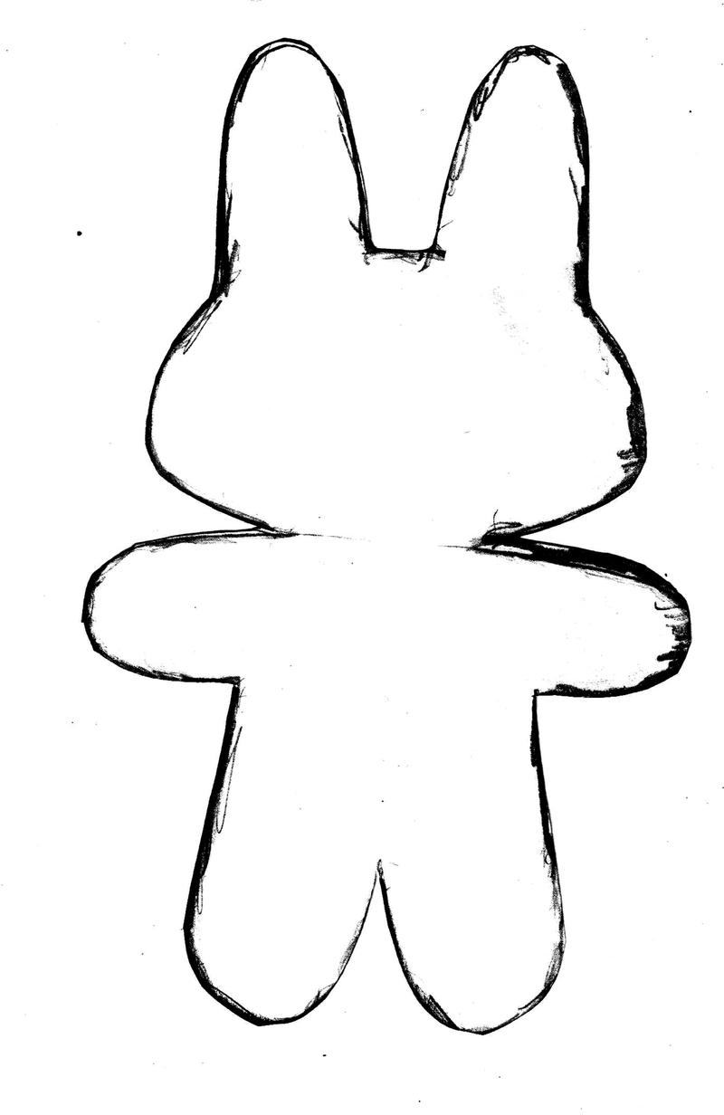 outline of bunny rabbit rabbit outline picture for coloring bunny outline of rabbit