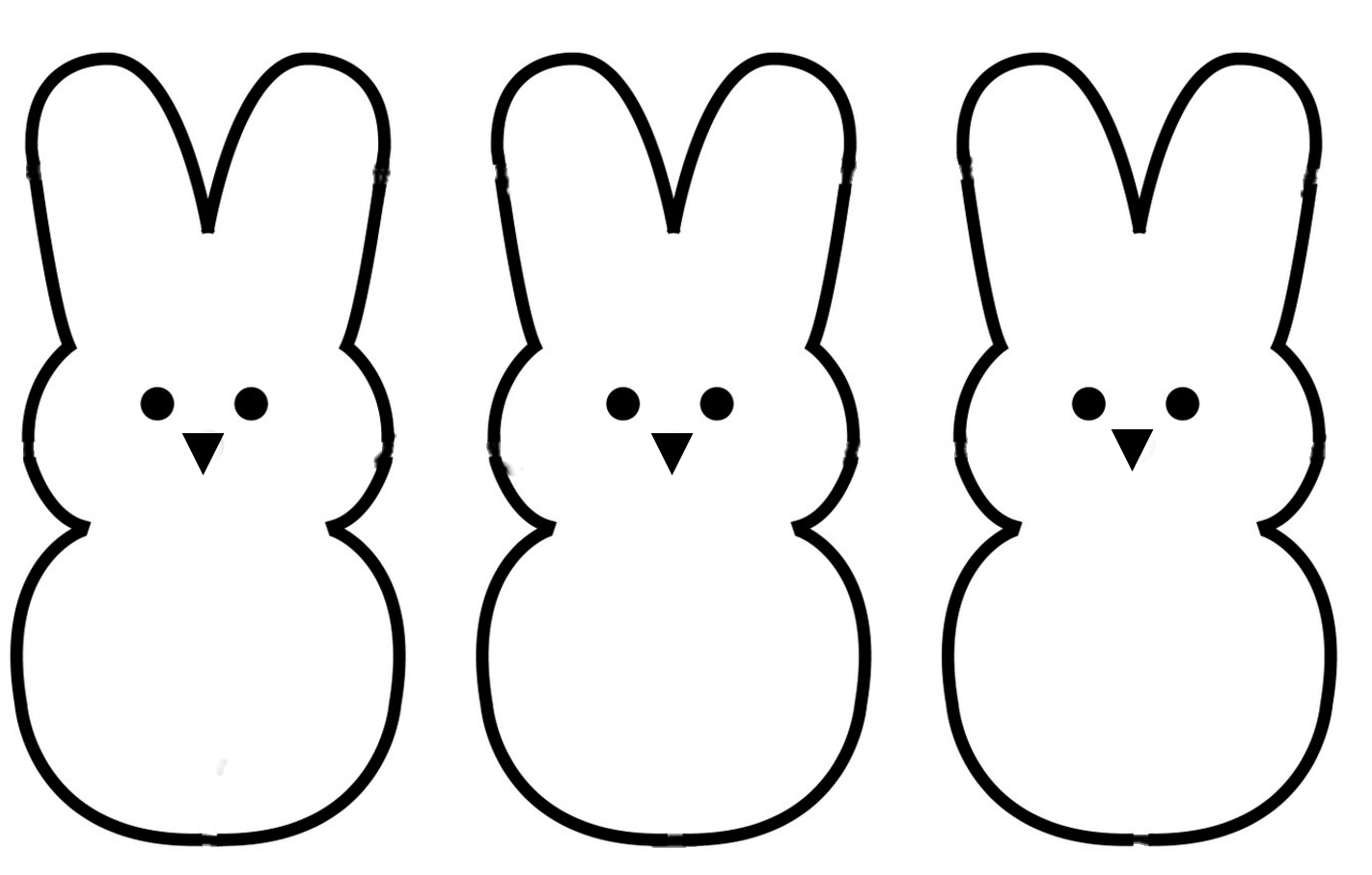 outline of bunny rabbit real bunny coloring pages download and print for free of outline rabbit bunny