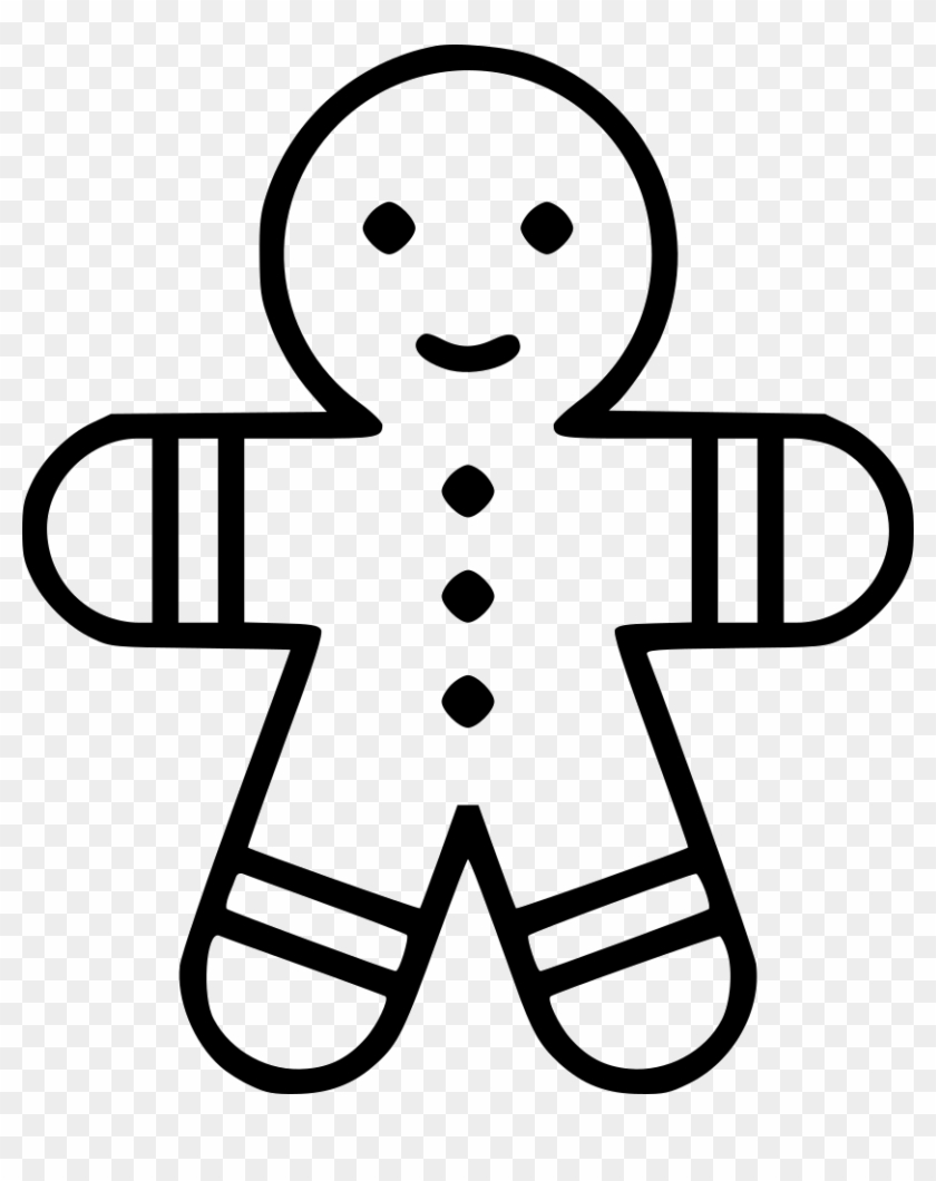 outline of gingerbread man gingerbread man template free stock photo public domain man outline gingerbread of