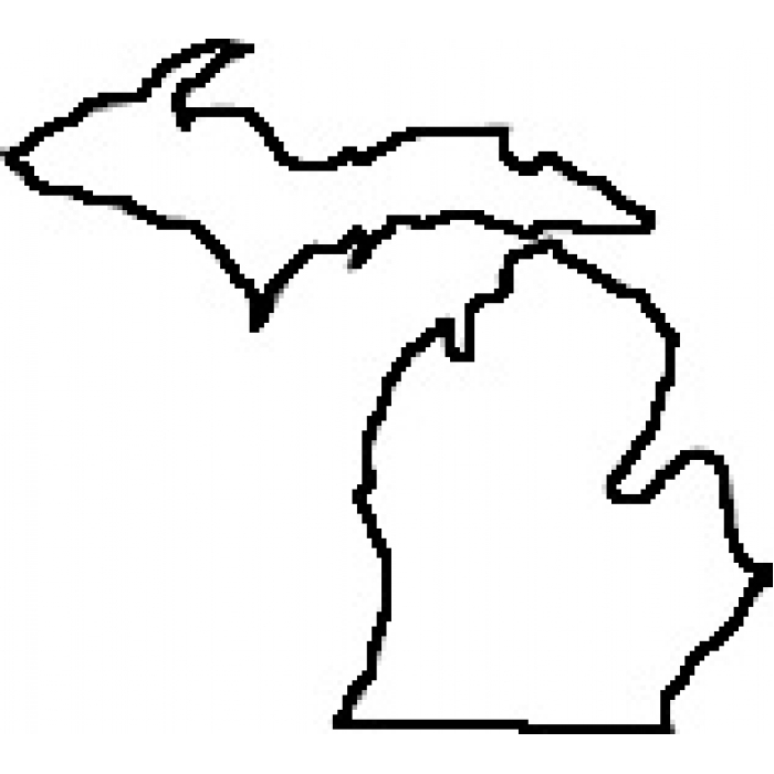 outline of michigan 39michigan39 sticker by shall hatch in 2020 michigan of outline michigan