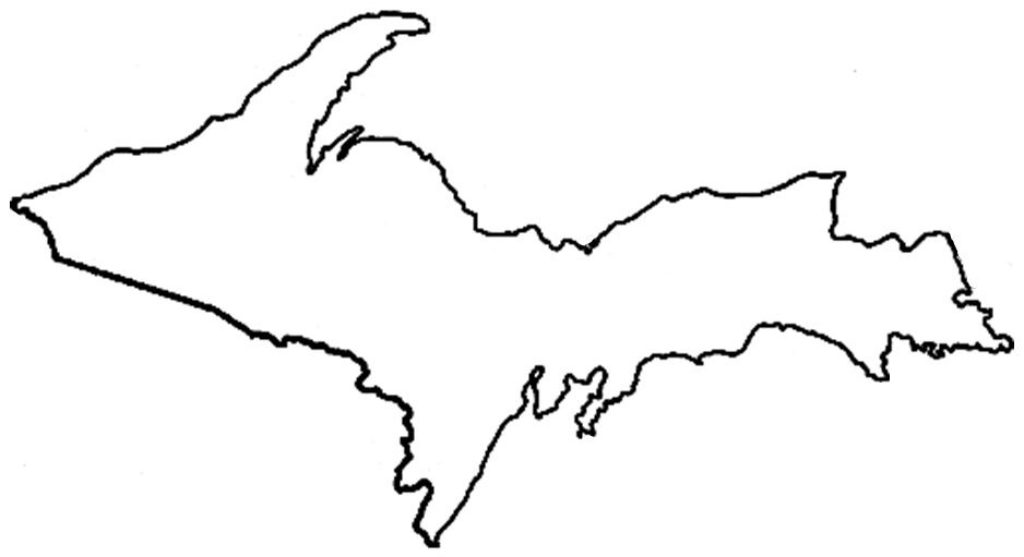 outline of michigan michigan clipart outline collection cliparts world 2019 michigan of outline
