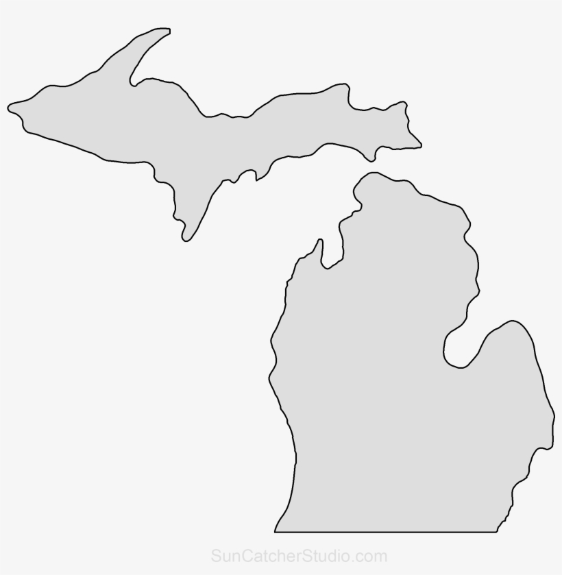 outline of michigan michigan outline dxf file free download 3axisco outline michigan of