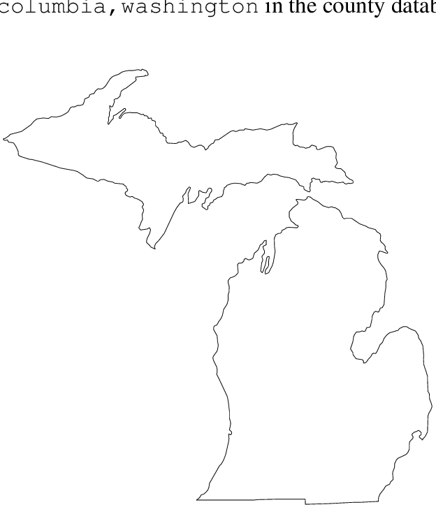 outline of michigan michigan pattern use the printable outline for crafts michigan outline of