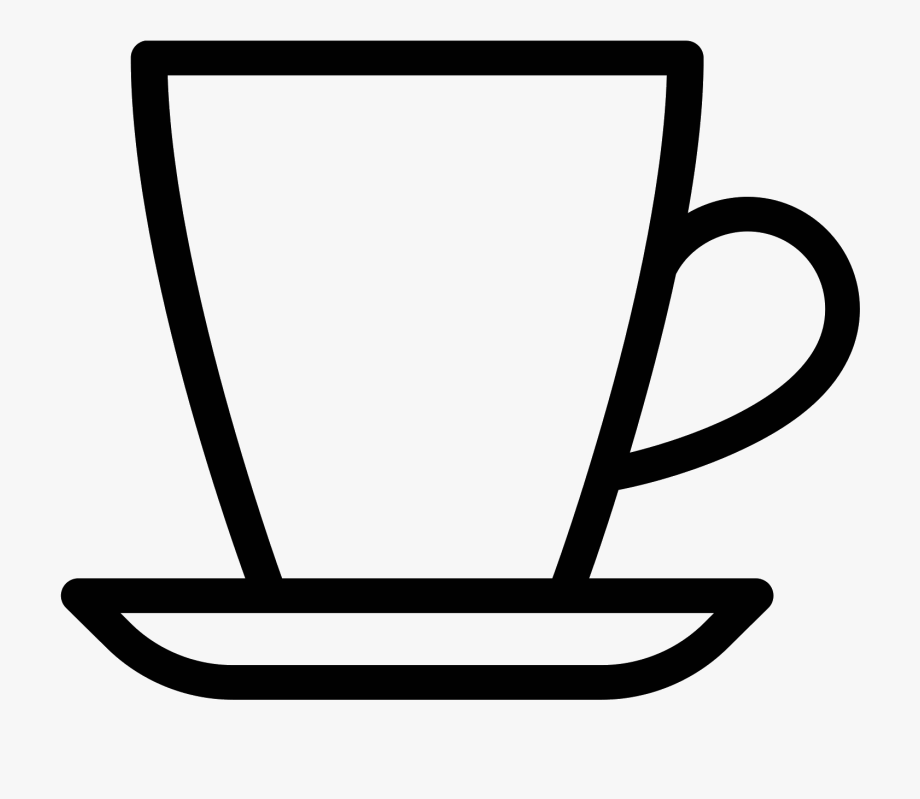 outline picture of cup black isolated outline icon of tea cup on white background picture outline cup of