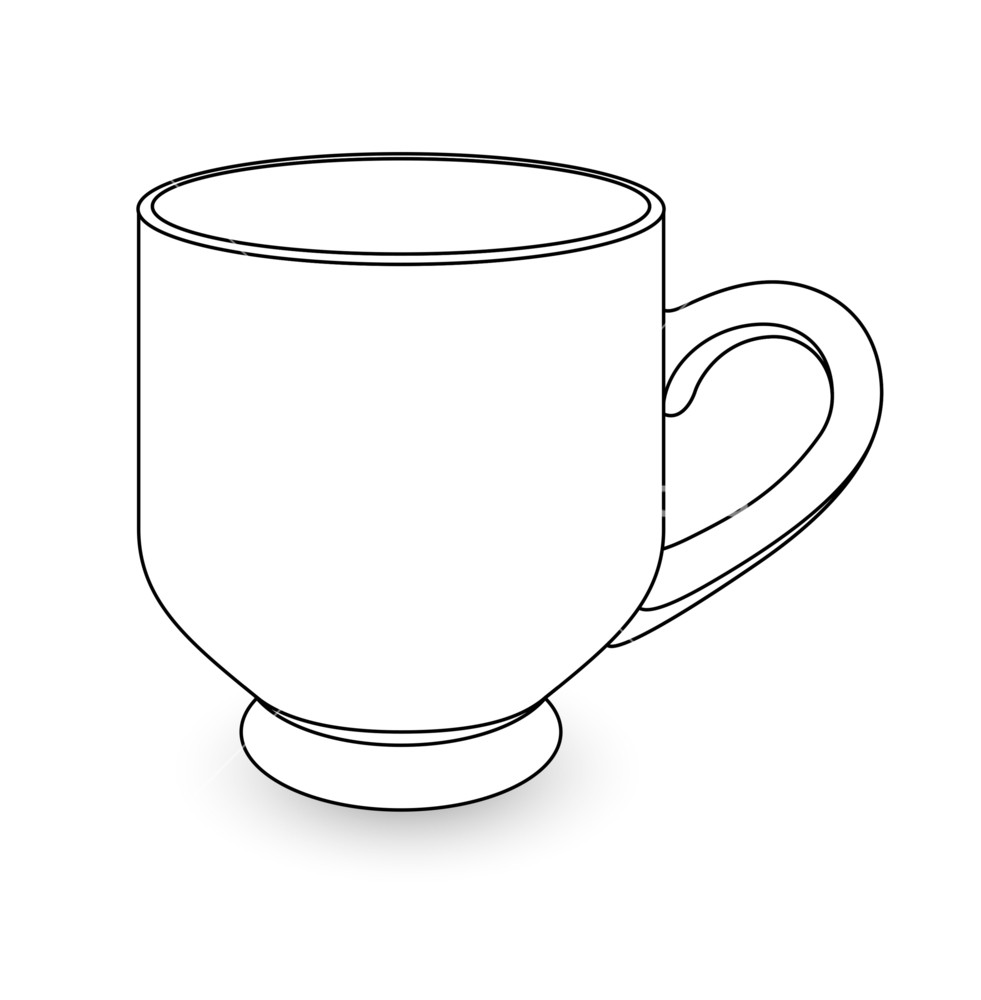outline picture of cup cup clipart colouring page cup colouring page transparent cup picture of outline
