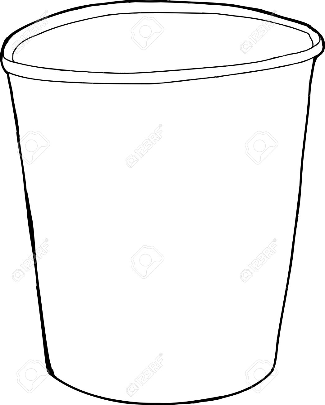 outline picture of cup cup clipart outline cup outline transparent free for of outline cup picture
