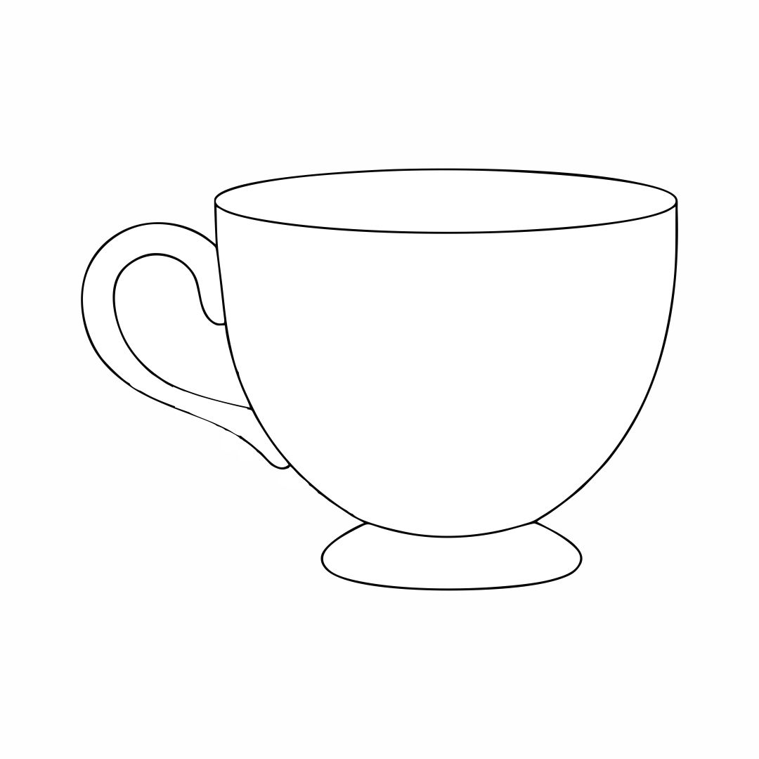 outline picture of cup cup outline clip art at clkercom vector clip art online cup outline picture of