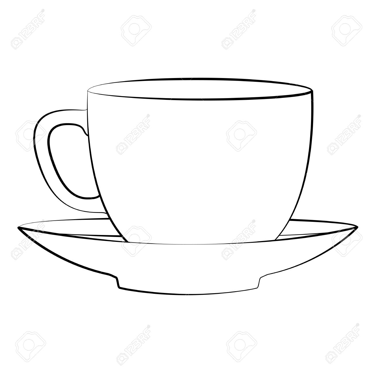 outline picture of cup free blank mug cliparts download free clip art free clip picture of outline cup