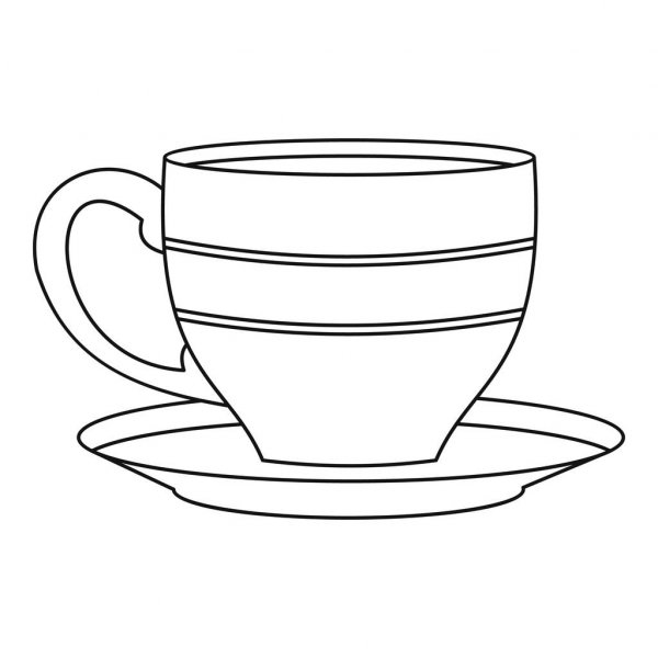 outline picture of cup outline of coffee cup most orders white cartoon hot free picture cup of outline