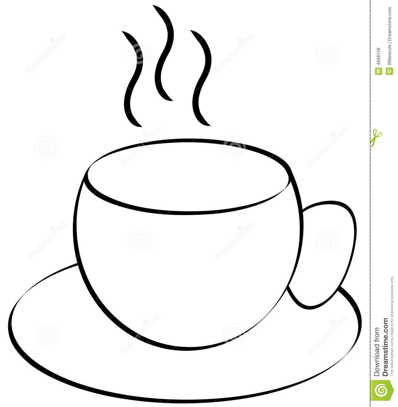 outline picture of cup outline sketch of cup stock vector beatwalk 63962957 cup picture outline of