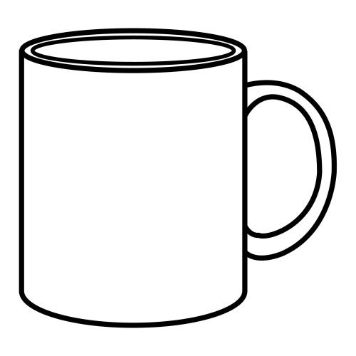 outline picture of cup outline sketch of cup stock vector beatwalk 63962985 of picture outline cup
