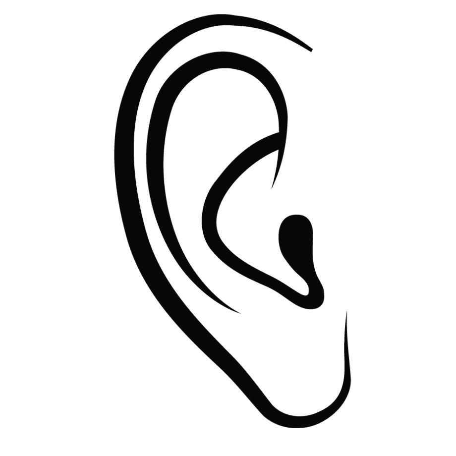 outline picture of ear ear ears clipart outline frames illustrations hd images picture outline of ear
