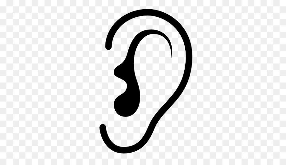 outline picture of ear ear vectors photos and psd files free download picture ear of outline