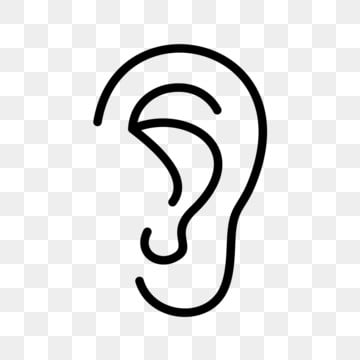 outline picture of ear free download rice ear icon png images ear vector icon picture ear outline of
