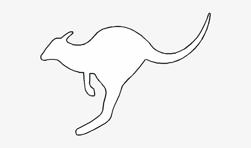 outline picture of kangaroo 16 kangaroo templates crafts colouring pages free picture of kangaroo outline