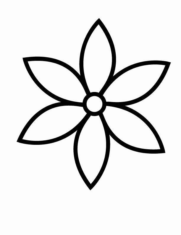 outline pictures of flowers for colouring flower coloring pages simple in 2020 with images for colouring outline flowers pictures of