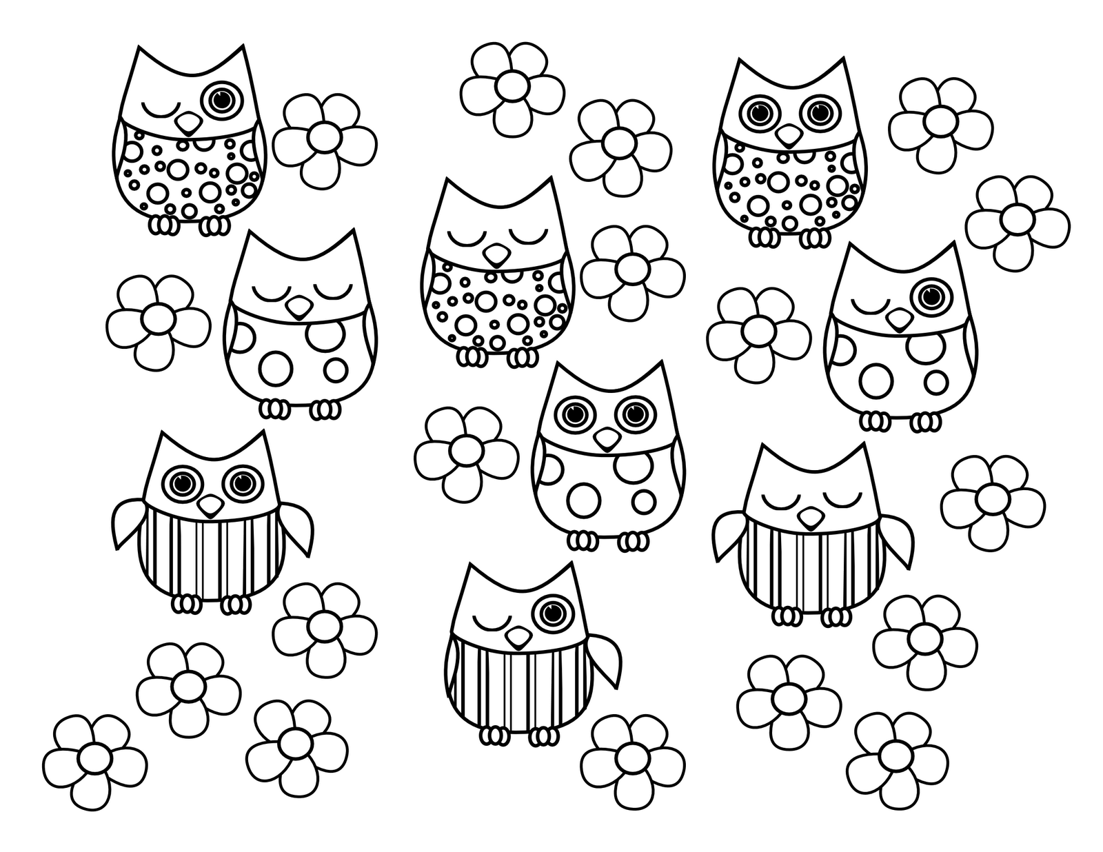 owl color sheets free printable owl coloring pages for kids cool2bkids color owl sheets
