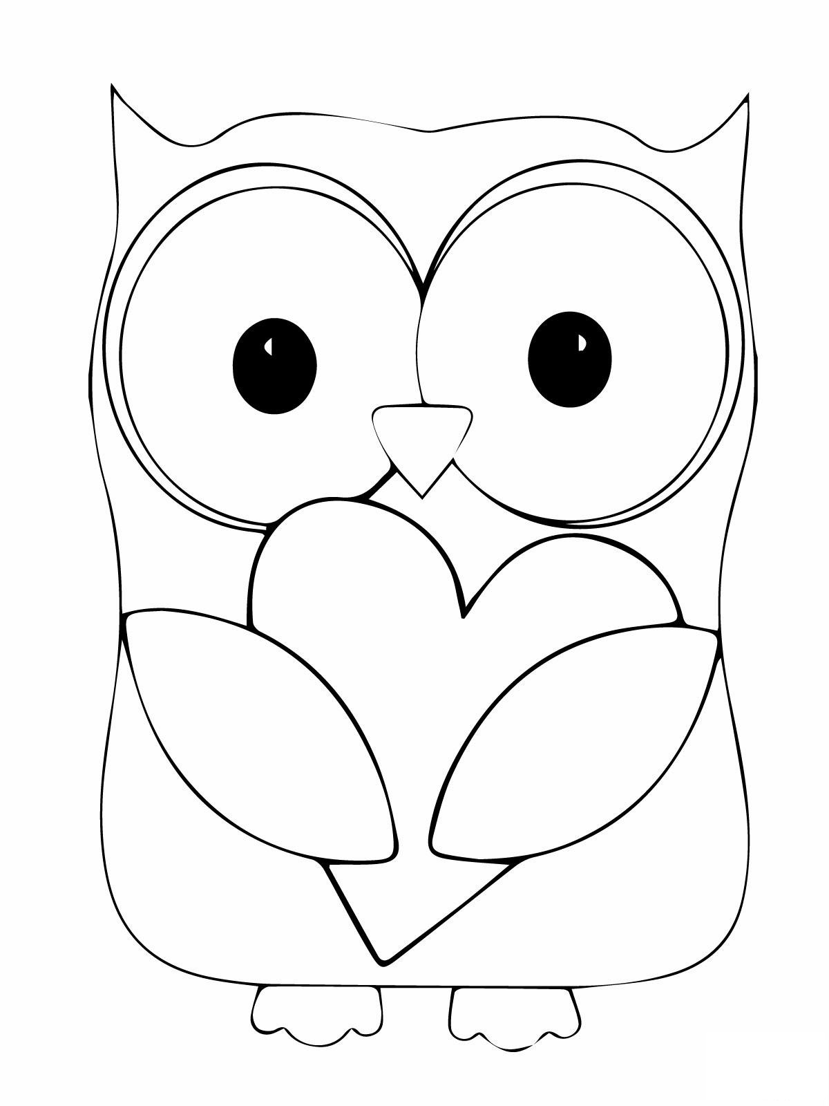 owl images to color download brown hawk owl coloring for free designlooter owl images color to