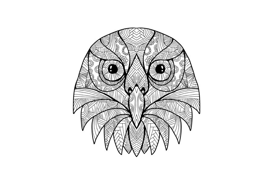 owl mandala zentangle owl animal mandala drawing mandala drawing owl mandala