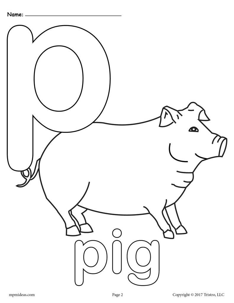 p coloring worksheet letter p alphabet coloring pages 3 free printable p coloring worksheet