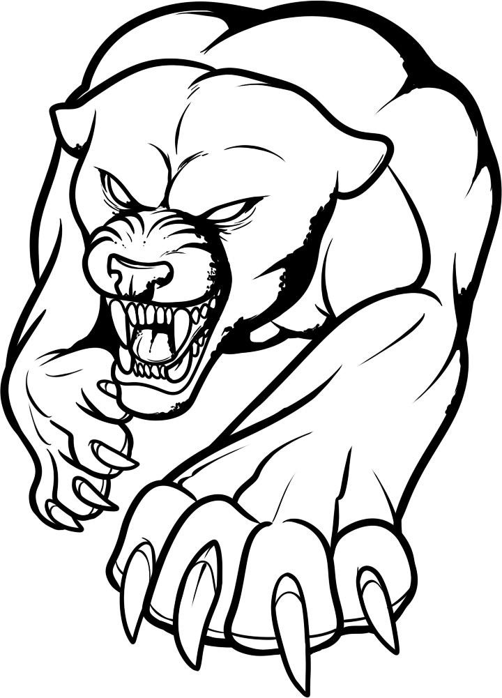 panther coloring pages 10 printable panther coloring pages your toddler will love coloring panther pages