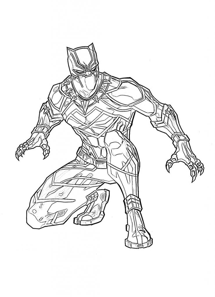 panther coloring pages black panther coloring pages superheroes printable 2020 panther coloring pages