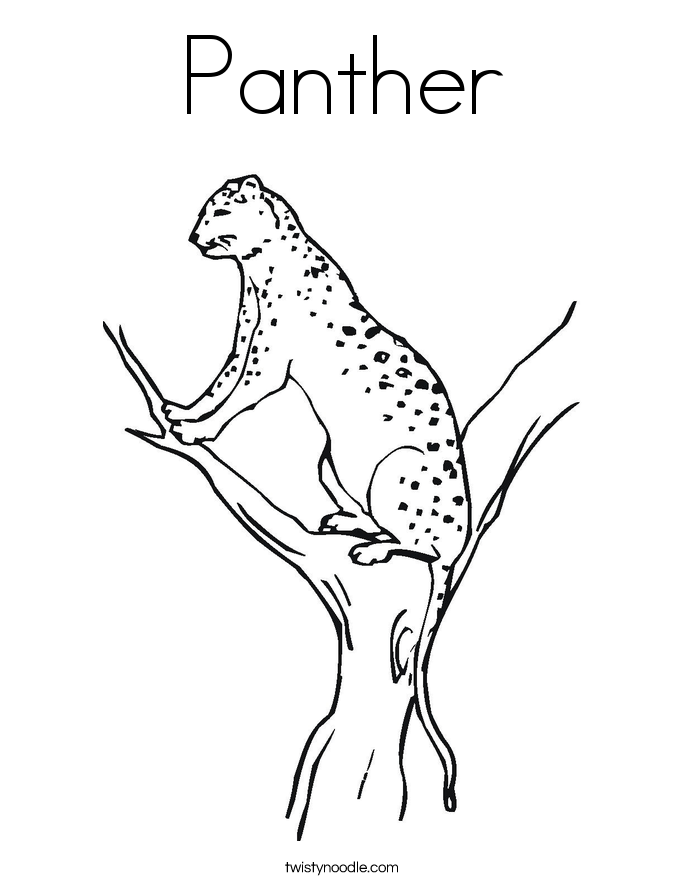 panther coloring pages panther coloring pages coloring panther pages