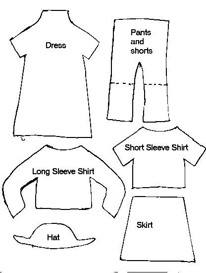paper doll template with clothes image result for felt people clothing template quiet doll template clothes with paper
