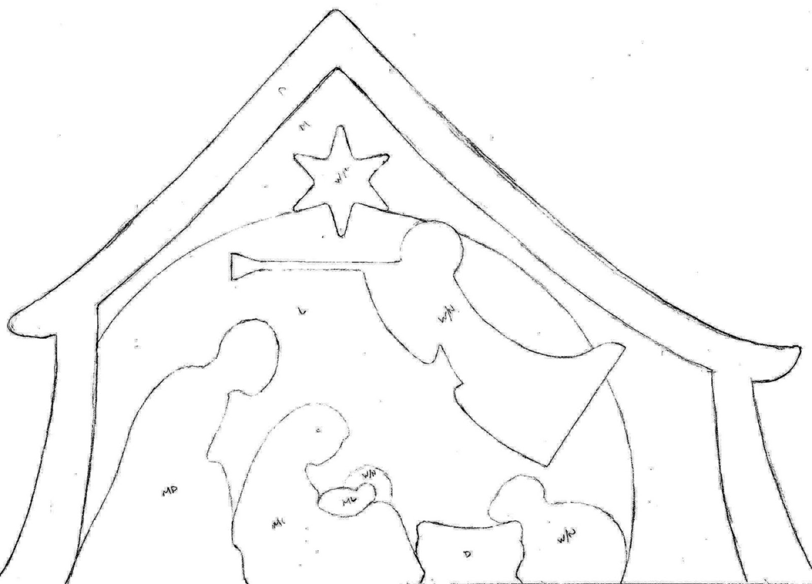 paper nativity scene cut out pin on crafts christmas paper nativity cut scene out