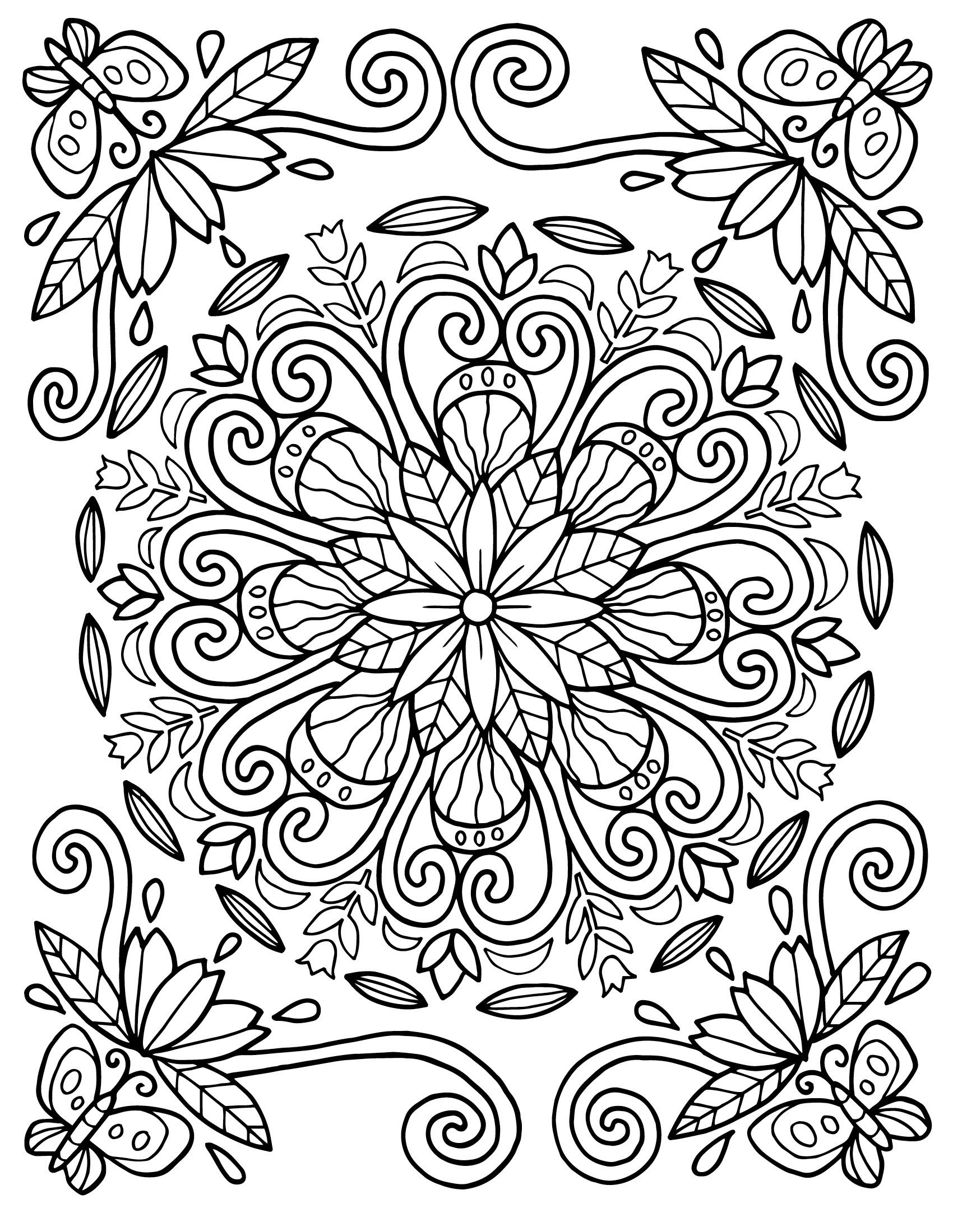 pattern color pages 6 best images of line designs geometry printable pattern pages color
